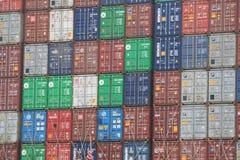 Σωρός εμπορευματοκιβωτίων Στοκ φωτογραφία με δικαίωμα ελεύθερης χρήσης