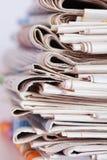 σωρός εφημερίδων Στοκ Εικόνα