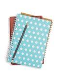 Σωρός και μολύβι σημειωματάριων Στοκ εικόνες με δικαίωμα ελεύθερης χρήσης
