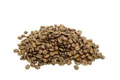 σωρός καφέ φασολιών Στοκ εικόνα με δικαίωμα ελεύθερης χρήσης