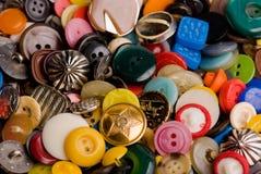 σωρός κουμπιών Στοκ Εικόνες