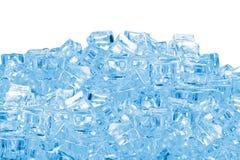 Σωρός κύβων πάγου Στοκ Εικόνα