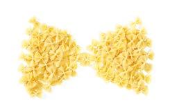 Σωρός μορφής δεσμών τόξων των ζυμαρικών Farfalle Στοκ Εικόνα