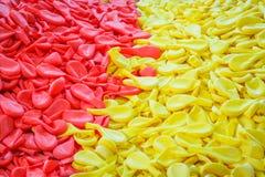 Σωρός μπαλονιών μετά από τη διαδικασία στο εργοστάσιο Στοκ φωτογραφίες με δικαίωμα ελεύθερης χρήσης