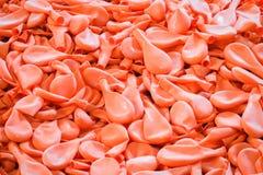 Σωρός μπαλονιών μετά από τη διαδικασία στο εργοστάσιο Στοκ Φωτογραφία