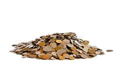 σωρός νομισμάτων Στοκ Φωτογραφίες