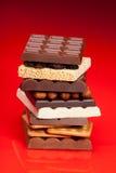 σωρός σοκολάτας Στοκ Φωτογραφία