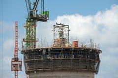Σωρός σταθμών παραγωγής ηλεκτρικού ρεύματος Στοκ φωτογραφίες με δικαίωμα ελεύθερης χρήσης