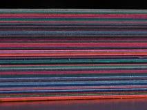 Σωρός του εγγράφου κατασκευής στη μακροεντολή Στοκ φωτογραφία με δικαίωμα ελεύθερης χρήσης