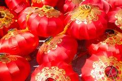 Σωρός του κόκκινου κινεζικού φαναριού Στοκ εικόνα με δικαίωμα ελεύθερης χρήσης