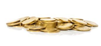 Σωρός του νομίσματος χρημάτων Στοκ Φωτογραφία