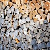 Σωρός του ξύλινου κούτσουρου Στοκ φωτογραφίες με δικαίωμα ελεύθερης χρήσης