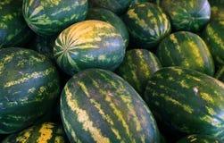 Σωρός του πράσινου νερό-melone στοκ εικόνες