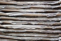 Σωρός του χαρτονιού Στοκ εικόνα με δικαίωμα ελεύθερης χρήσης