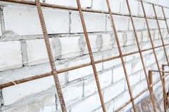 Σωρός των άσπρων τούβλων Στοκ Φωτογραφία