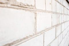 Σωρός των άσπρων τούβλων Στοκ Εικόνα