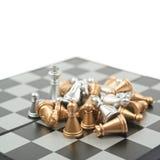 Σωρός των αριθμών σκακιού για έναν πίνακα Στοκ φωτογραφίες με δικαίωμα ελεύθερης χρήσης