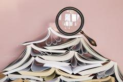 Σωρός των βιβλίων στοκ φωτογραφίες με δικαίωμα ελεύθερης χρήσης