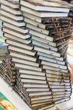 Σωρός των βιβλίων ως έννοια εκπαίδευσης και επιχειρήσεων στοκ φωτογραφίες με δικαίωμα ελεύθερης χρήσης