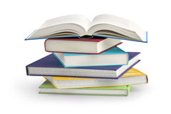 Σωρός των βιβλίων Στοκ Φωτογραφίες