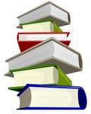 Σωρός των βιβλίων Διανυσματική απεικόνιση