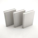 Σωρός των γκρίζων βιβλίων Στοκ Εικόνες
