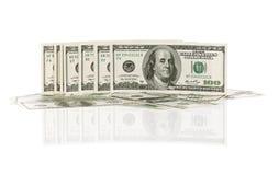 Σωρός των δολαρίων στοκ εικόνες με δικαίωμα ελεύθερης χρήσης