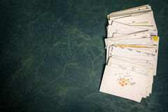 Σωρός των εγγράφων Στοκ φωτογραφία με δικαίωμα ελεύθερης χρήσης