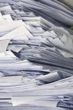 Σωρός των επιχειρησιακών εγγράφων Στοκ φωτογραφία με δικαίωμα ελεύθερης χρήσης