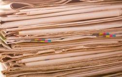 Σωρός των εφημερίδων Στοκ εικόνα με δικαίωμα ελεύθερης χρήσης
