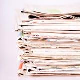 Σωρός των εφημερίδων Στοκ εικόνες με δικαίωμα ελεύθερης χρήσης