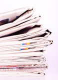 Σωρός των εφημερίδων Στοκ Φωτογραφίες