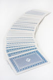 Σωρός των καρτών παιχνιδιού Στοκ Εικόνες