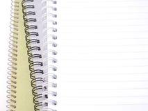 Σωρός των κενών σημειωματάριων Στοκ φωτογραφία με δικαίωμα ελεύθερης χρήσης