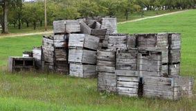 Σωρός των κλουβιών Στοκ Εικόνα