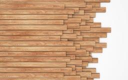 Σωρός των νέων ξύλινων σανίδων που απομονώνονται στο λευκό Στοκ εικόνα με δικαίωμα ελεύθερης χρήσης