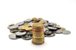 Σωρός των νομισμάτων Στοκ Εικόνες