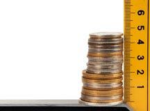 Σωρός των νομισμάτων Στοκ φωτογραφίες με δικαίωμα ελεύθερης χρήσης