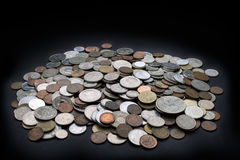 Σωρός των νομισμάτων Στοκ Φωτογραφία