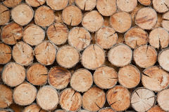 Σωρός των ξύλινων υποβάθρων κούτσουρων, ξύλινα υπόβαθρα Στοκ Εικόνα