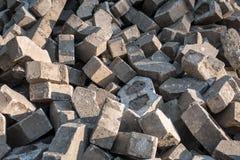 Σωρός των πετρών επίστρωσης Στοκ Εικόνες