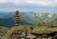 Σωρός των πετρών zen Στοκ Εικόνες