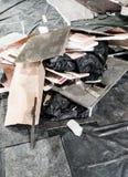 Σωρός των σκουπιδιών στοκ φωτογραφία