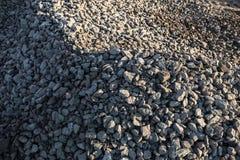 Σωρός των συντριμμένων πετρών Στοκ Φωτογραφίες