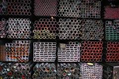 Σωρός των σωλήνων σιδήρου Στοκ φωτογραφία με δικαίωμα ελεύθερης χρήσης