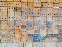Σωρός των τούβλων αργίλου Στοκ Φωτογραφίες