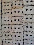 Σωρός των τούβλων αργίλου Στοκ Εικόνα