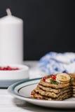 Σωρός των υγιών χαμηλών τηγανιτών βρωμών εξαερωτήρων Στοκ Εικόνες