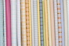 Σωρός των υφασμάτων υφασμάτων, Ινδία Στοκ Φωτογραφία