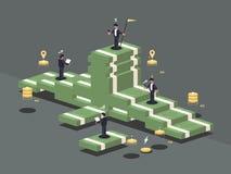 Σωρός των χρημάτων απεικόνιση αποθεμάτων